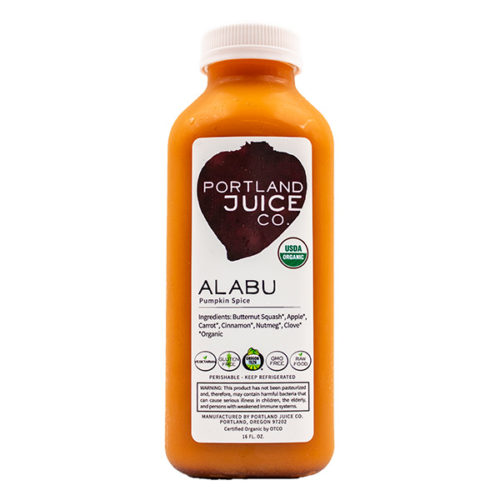 Alabu Pumpking Spice Certified Organic Cold Pressed Juice