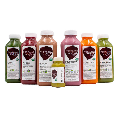 Refuel Juice Cleanse - Certified Organic Cold-Pressed Juice From Portland Juice Company